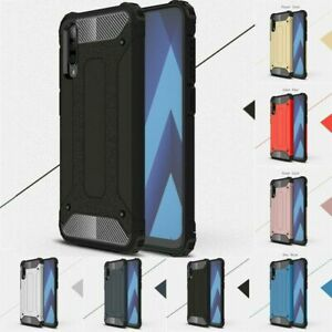 Hybrid Rubber Shockproof Armor Rugged Cover For Samsung Galaxy A70 Case A50 A40