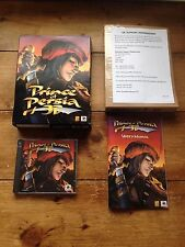 1999 CLASSIC PC CD ROM GAME PRINCE OF PERSIA 3D BIG BOX GAME REDORB MAN CAVE