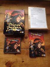 1999 Juego clásico PC CD Rom Prince Of Persia 3D REDORB Juego Caja Grande Cueva de hombre