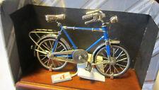 Bicicletta in argento 925 miniatura