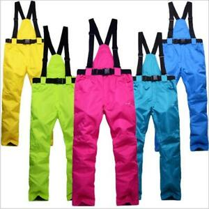 Ski Pants Women's Insulated Snow Pants Outdoor Essential Insulated Bib Overalls