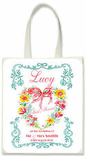Personalised Gift Bag for Bridal Party - Ideal for Bridesmaid, Flower Girl, Mum