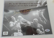 EARNIE SHAVERS AUTOGRAPHED 8X10 PHOTO (MUHAMMAD ALI) PSA/DNA