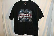 Harley Davidson Grand Cayman Shirt Extra Large Black Pirate USA Ship Islands