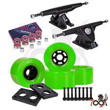 Cal 7 Longboard Flywheel 180mm Truck Bearing 83mm Green Skateboard Wheels