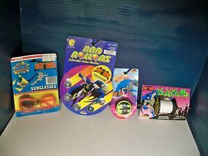 Batman Lot Sunglasses 1984 Marbles 1990 YoYo Kite spool 1989