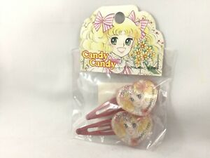 vintage Candy Candy metal hair clip Japan anime Yumiko Igarashi cosplay