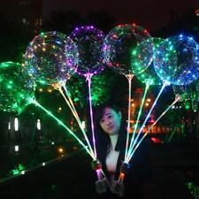 18Inch Luminou führte Ballon transparente Blase Hochzeits Party Decor