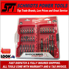 MILWAUKEE SHOCKWAVE DRILL & IMPACT DRIVER BIT SET 30 PCE WITH CASE 4932352894