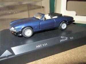 153Q DetailCars Collection Art.131 Jaguar XJS Convertible Bleu 1:43 Neuf + Boite