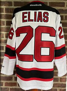 Reebok New Jersey Devils Patrick Elias Stitched Jersey Size Small