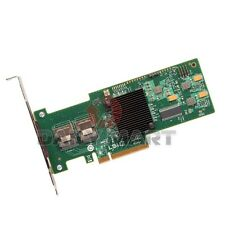 LSI LOGIC MEGARAID 9240-8I 8-PORT SAS SATA RAID 6GB CONTROLLER CARD PLC NEW