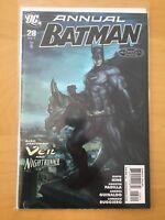 BATMAN ANNUAL 28, SEE PICS FOR GRADE, 1ST PRINT, ARTGERM COVER, 2011