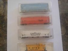 HO Scale Model Train Carriages