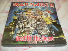 IRON MAIDEN -THE BEST OF THE BEAST- AWESOME 4 LP BOX SET UK 1996 SIGNED BRUCE