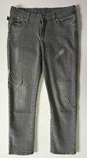 Rock & Republic Hamburg Jeans Women's 4 Skinny Stonewashed Distressed R210134