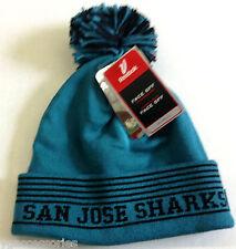 NHL San Jose Sharks Reebok Winter Pom Knit Hat NEW!