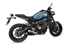 Yamaha XSR900 16-17 SP Engineering Satin Black Round Moto GP XLS Exhaust System