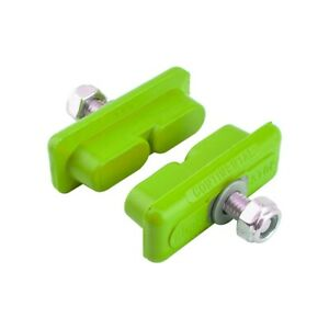 Kool Stop CONTINENTAL brake BMX pads for mag wheels Skyway Tuff ACS * GREEN