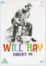 CONVICT 99 WILL HAY GOOGIE WITHERS GRAHAM MOFFATT RANK ITV UK REGION 2 DVD NEW