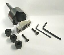 Tailstock V Adaptor MT2 For Round Bar Drilling-Engineering,Machinist, DIY tools