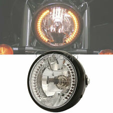"7"" H4 Headlight  LED Turn Signal For Suzuki Intruder Volusia VS 700 750 800 1400"
