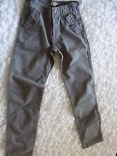 Pantalon Coton Gris *** BURBERRY *** 14 ans - Comme neuf