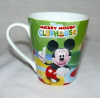 Disney Porcelain 10 oz. Mickey Mouse ClubHouse Mug Cup Goofy