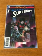 The New 52: Future's End 1-shot 3D Holo cover: Superboy