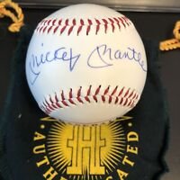 Unique Special Edition Mickey Mantle Autographed  Baseballs  UDA / Ken Burns