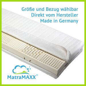 MatraMaxx Classica 7-Zonen LATEX-Matratze 17cm Höhe ALLE GRÖßEN