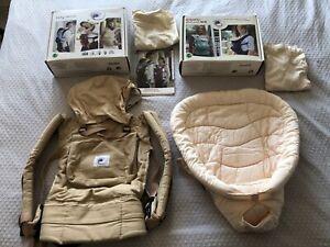Ergo baby carrier original & Baby Insert In Original Boxes