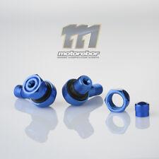 Blue 11.3mm CNC Aluminium 90 Degree Motorcycle Car Wheel Rim Tyre Valve Stems