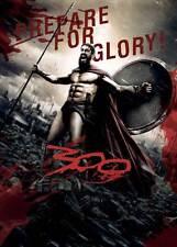 300 Movie POSTER 27x40 J Gerard Butler Lena Headey David Wenham Dominic West