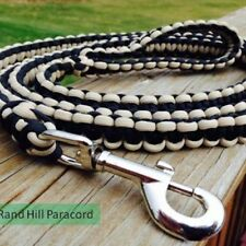 Paracord Dog Leash 4' Perfect for any size dog. Made to order, Free shipping
