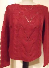 New Look Women's Chunky, Cable Knit Knit Acrylic Jumpers & Cardigans