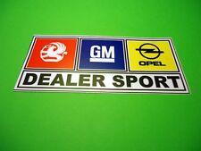 Vauxhall Opel GM Dealer Sport Classic Retro Decal Sticker Nova Cavalier Astra SR