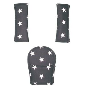 Harness Pad Sets - for pushchairs and car seats