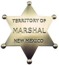 Obsolete Old West Marshall New Mexico Badge