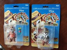 Funko Disney Afternoon 4 Inch Scale - Set of 2 - Chip, Dale & Zipper