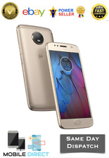 "Brand New Moto G5S 32GB Gold 4G LTE 5.2"" 3GB Ram DualSim16MP Android Smartphone"