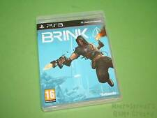 Brink Sony Playstation 3 PS3 Game - Bethesda Softworks