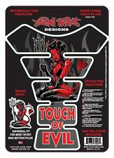 LETHAL THREAT Motorcycle Bike Tankpad Tank Pad Protector DEVIL GIRL LT70008
