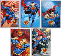5 Quadernoni Quaderni maxi A/4 Disney SUPERMAN Rigatura B - 3' elementare