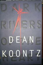 Dark Rivers of the Heart by Dean Koontz (1994, Hardcover) 1st Trade Edition Used