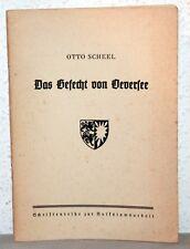 Otto Scheel - DAS GEFECHT VON OEVERSEE