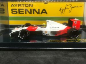 Minichamps 1:43 F1 A Senna Monza 1990 Limited Edition Elevated front wing