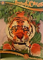 Tiger Greeting Card 3D Interactive Swing Card