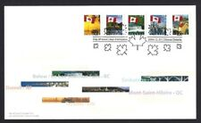 Canada # 2076 - 2080 Canadian Flags New 2004 Unaddressed