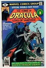 Marvel TOMB OF DRACULA #70 - FN 1979 Vintage Comic
